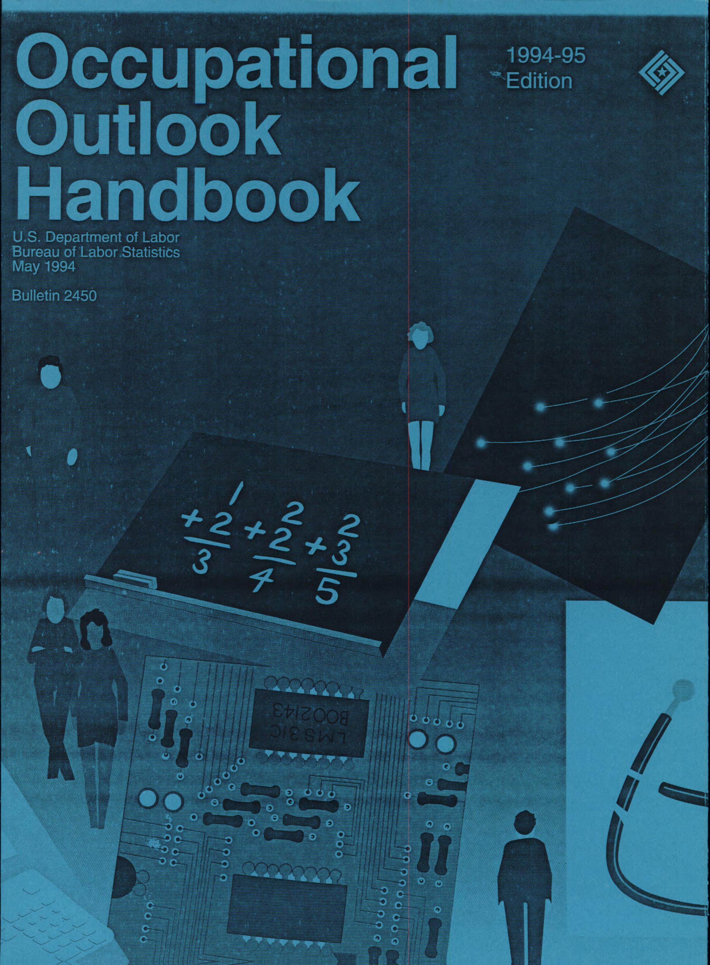 Occupational Outlook Handbook, 1994-1995